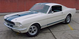 1965 Shelby Mustang Black & White Pictures