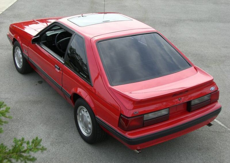 Vermilion 1990 Mustang LX 5.0
