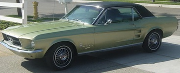 mustang blazer limited edition the 1967 - 1967 Ford Mustang Coupe Green
