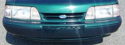 1990 Ford Mustang Grille Styles - MustangAttitude.com Data ...