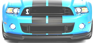 All Ford Mustang Shelby Grille Styles - MustangAttitude ...