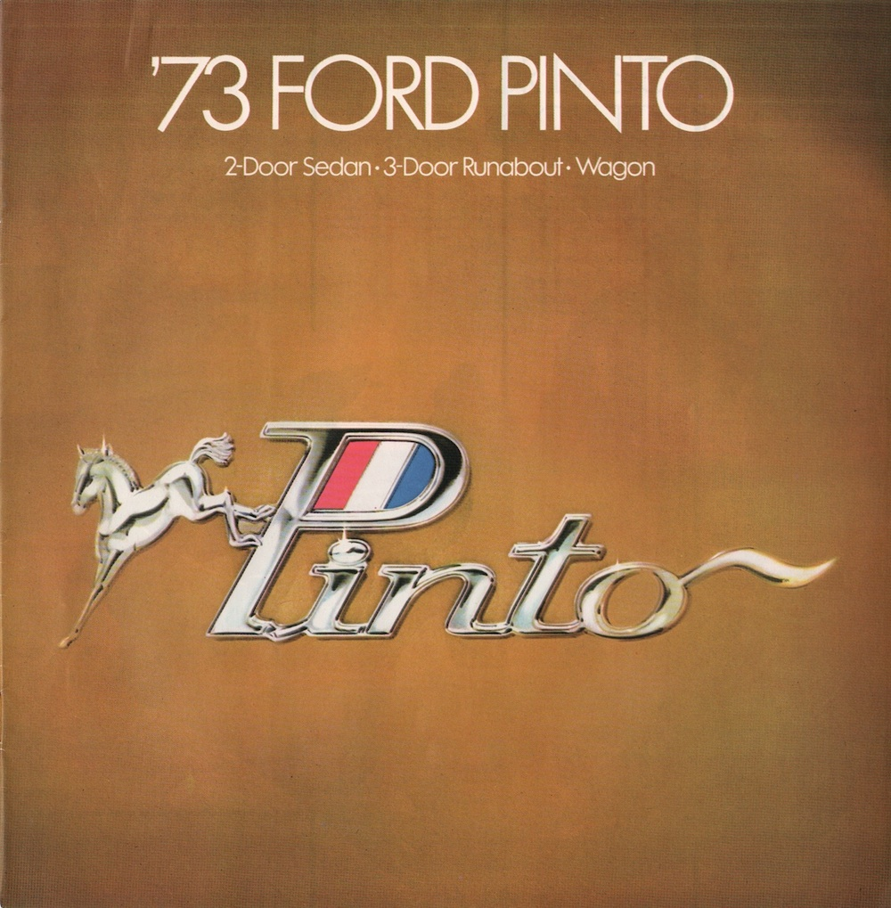 Ford 1973 Pinto Sales Brochure