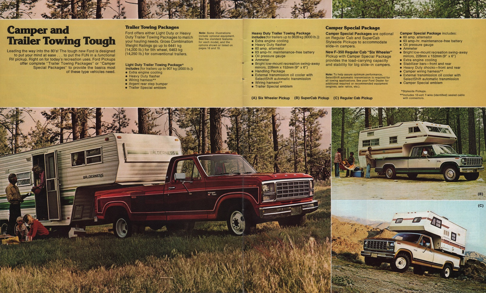 1980 pickup ford truck sales brochure 2011 Ford Mustang Ford Mustang Advertisements
