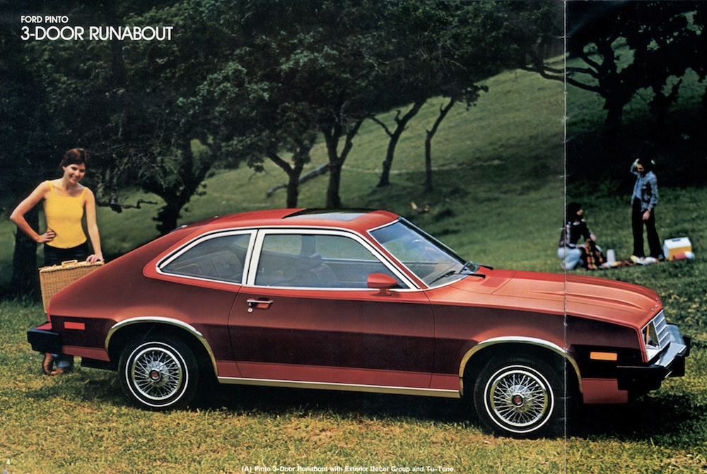 Ford 1980 pinto sales brochure sciox Gallery