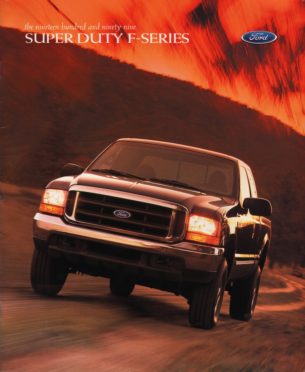 1999 Super Duty F Series Ford Truck Sales Brochure 1961 250 4x4 For Sale