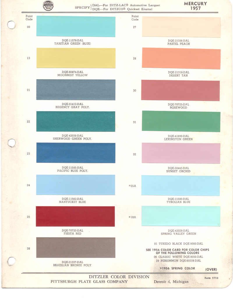 76 thunderbird paint codes and color chips in 1970 we had bring em back olive last stand. Black Bedroom Furniture Sets. Home Design Ideas