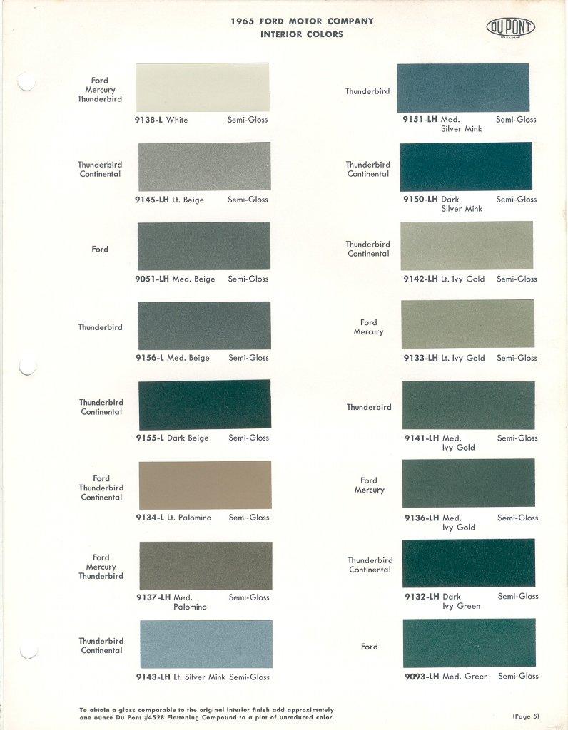 1965 ford falcon paint colors. Black Bedroom Furniture Sets. Home Design Ideas