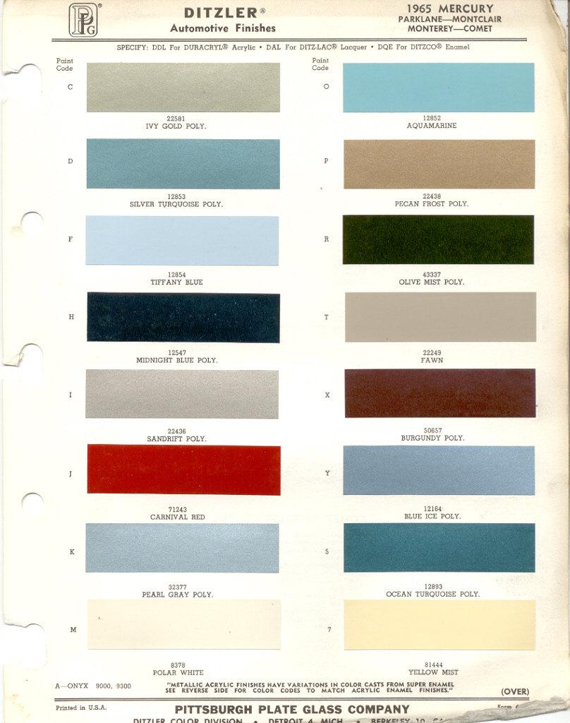 Ocean Turquoise Paint Code