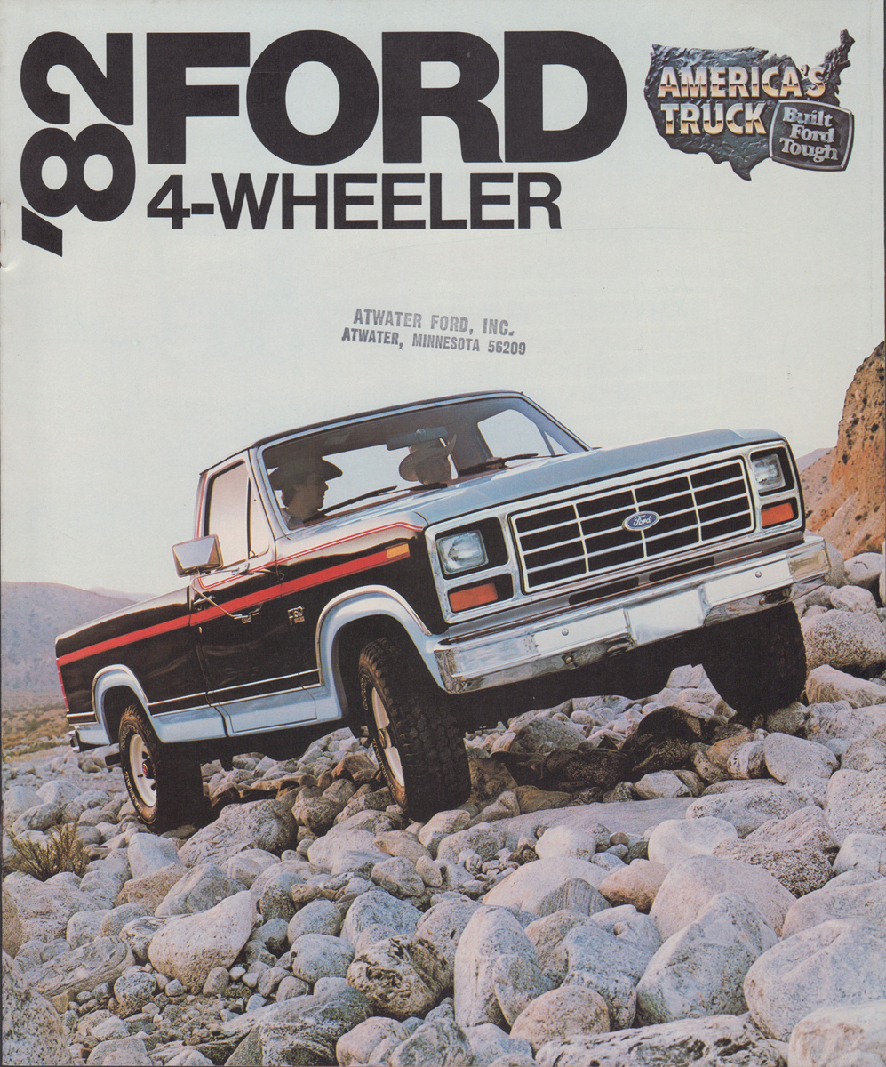 1982 Ford Truck Sales Brochure
