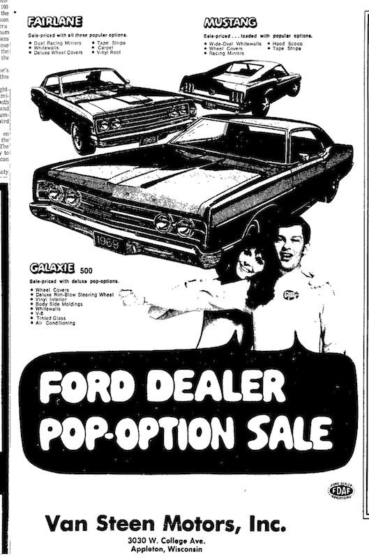 1969 Mustang Newspaper History