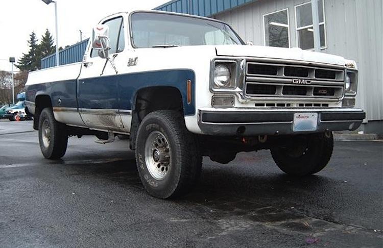 White 1976 GMC C2500