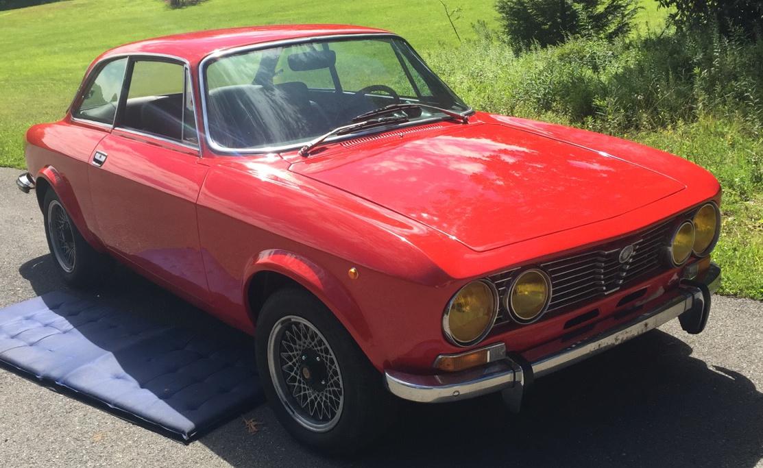 Alfa Red 1973 Alfa Romeo