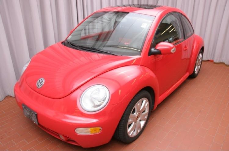 Red 2003 Volkswagen Beetle