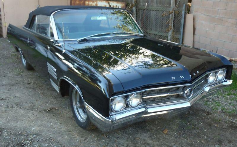 Regal Black 1964 Buick Wildcat