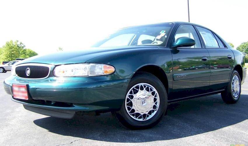 Jasper Green 2002 Buick Century