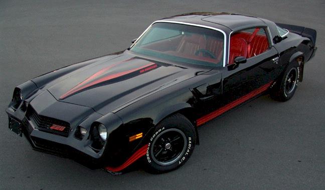 Black 1981 GM Chevrolet Camaro Z28 Coupe