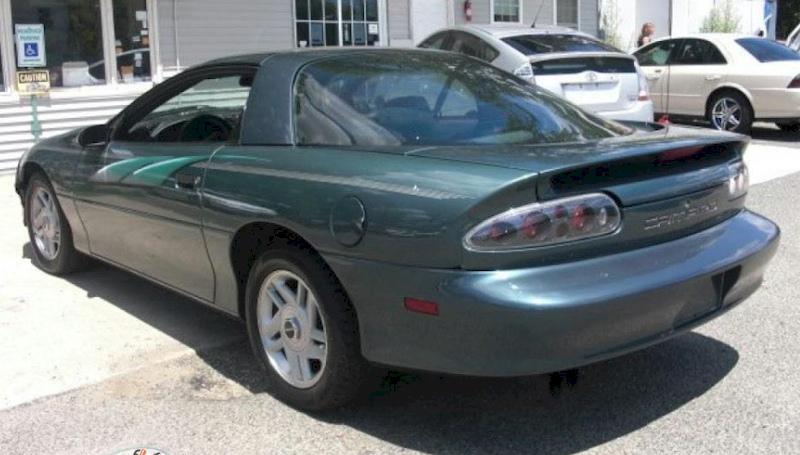 Dark Green Gray 1994 GM Chevrolet Camaro