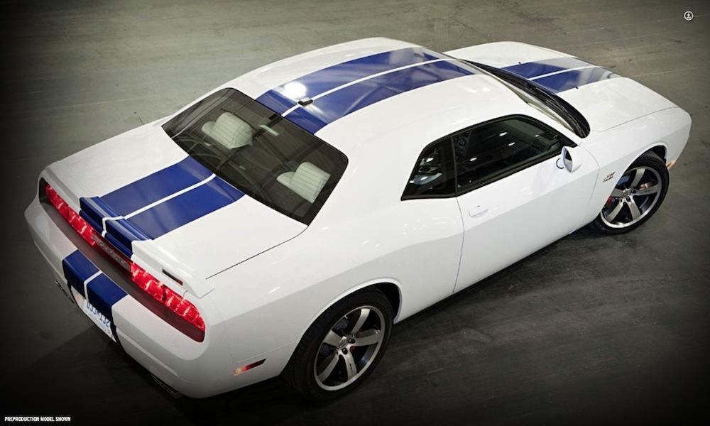 Bright White 2011 Chrysler Dodge Challenger