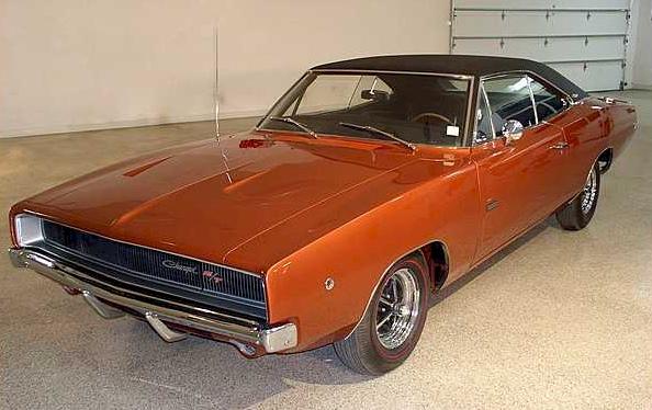 Bronze 1968 chrysler Dodge charger R/T