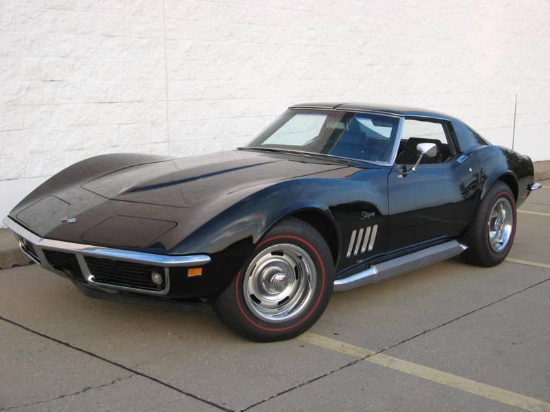 Tuxedo Black 1969 GM Chevrolet Corvette