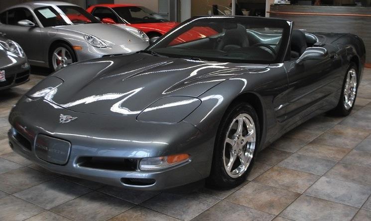 Medium Spiral Gray 2003 GM Chevrolet Corvette