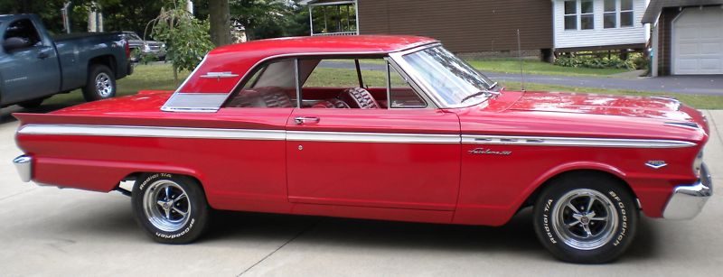 Rangoon Red 1963 Fairlane 500 Sports Coupe - Paint Cross Reference