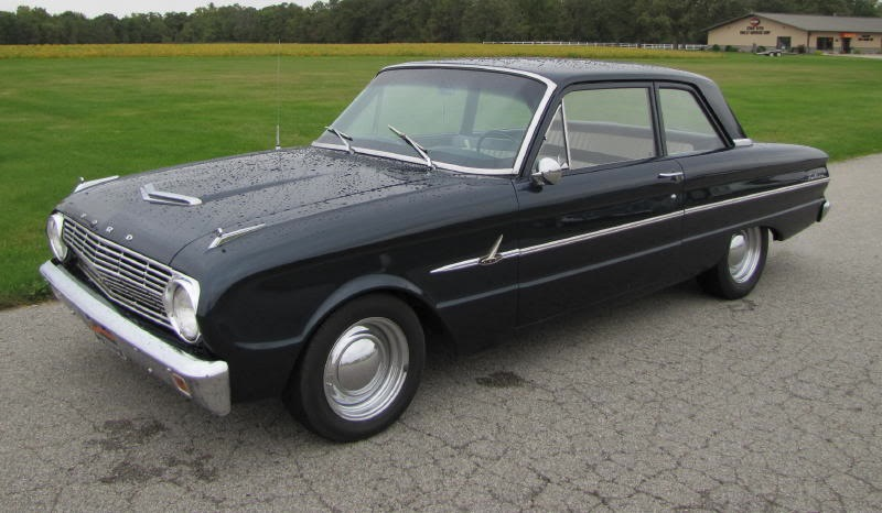 Black 1963 Ford Falcon