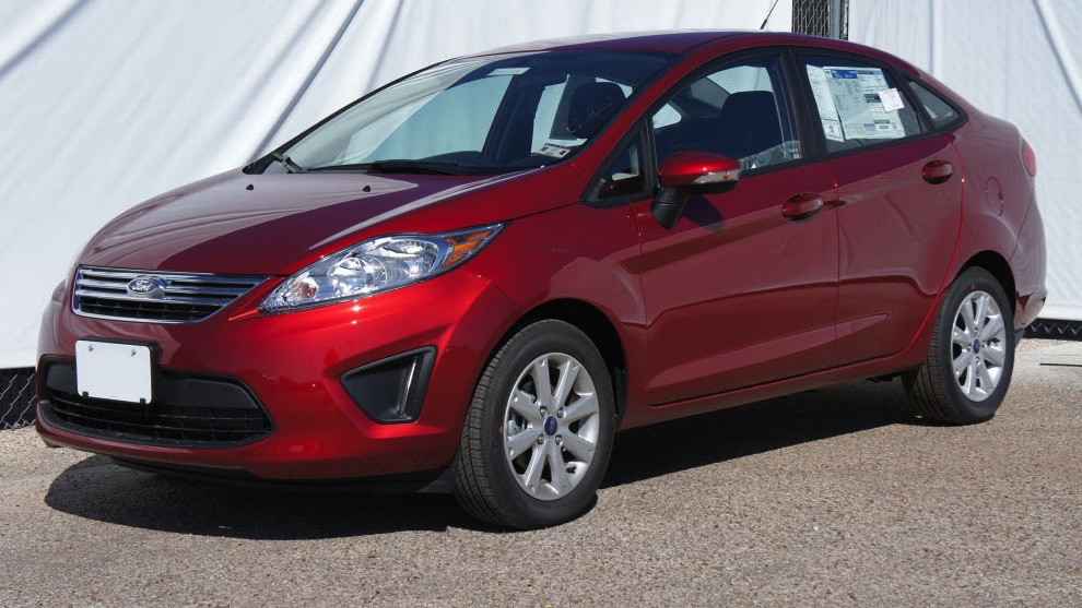 Ruby Red 2013 Ford Fiesta