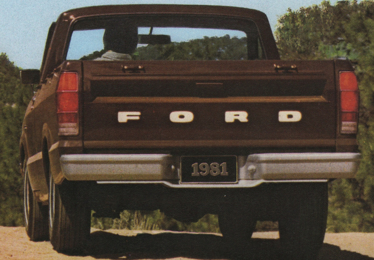 Dark Brown 1981 Ford Truck Courier Pickup
