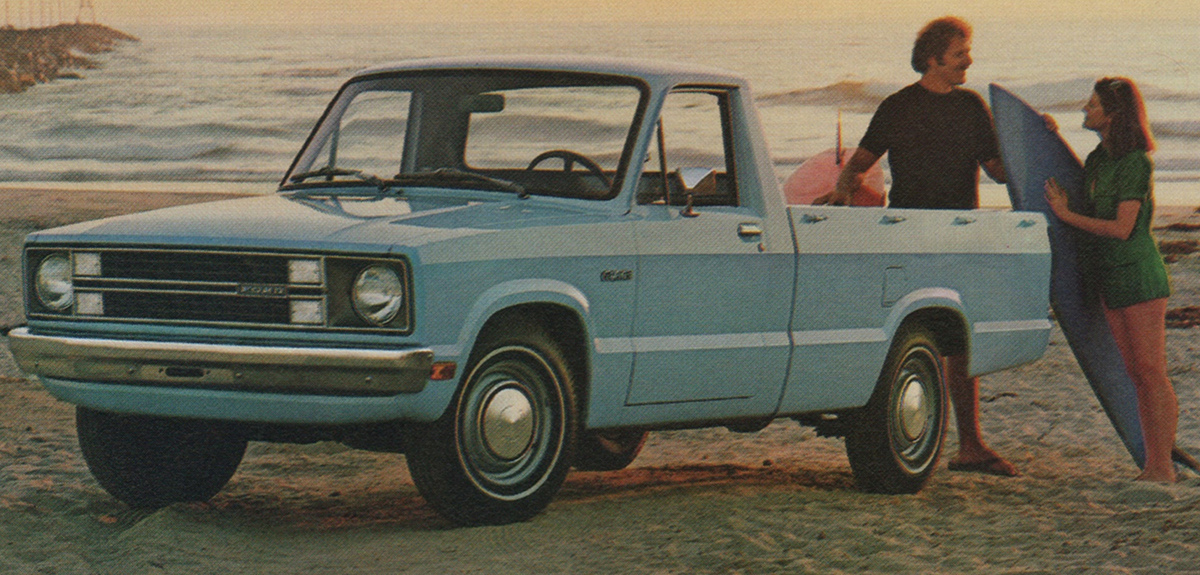 Light Blue 1981 Ford Truck Courier Pickup