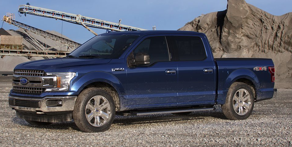 Blue Jeans 2019 ford F150