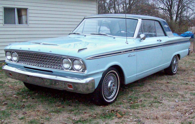 Peacock Blue 1963 Ford Galaxie