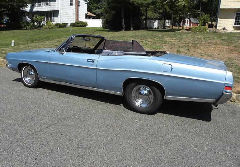Example Of Brittany Blue Paint On A 1968 Ford Galaxie 500xl