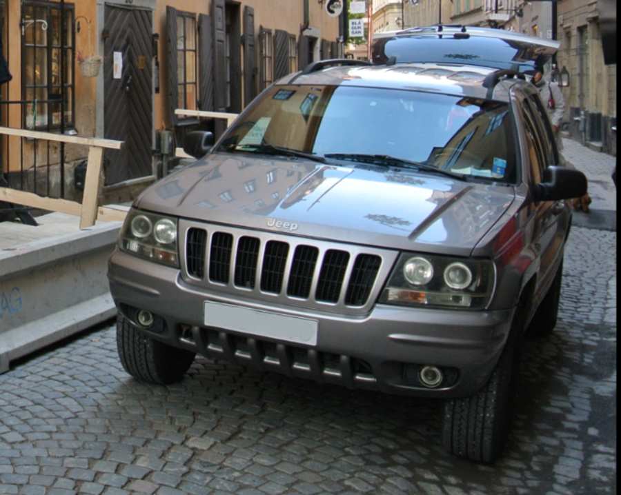 Bright Platinum 1999 Jeep Grand Cherokee