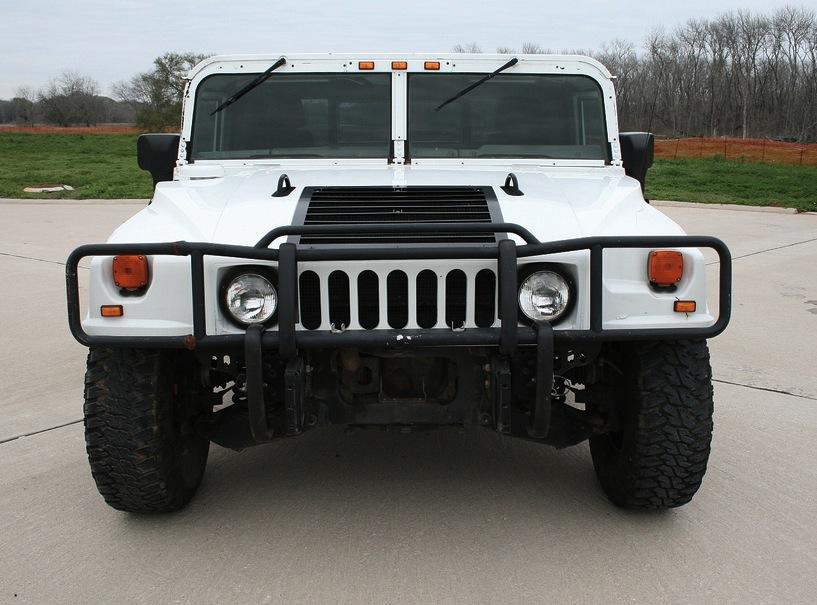 Civilian Bright White 2003 Hummer H1