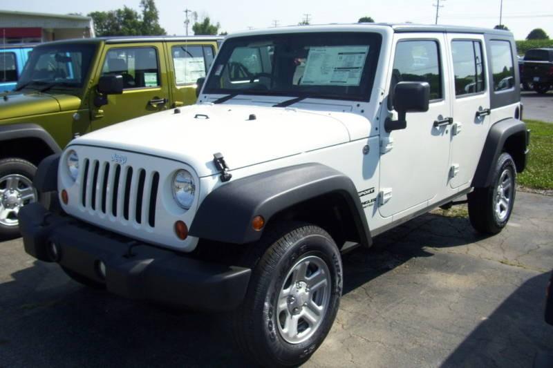 Stone White 2010 Jeep