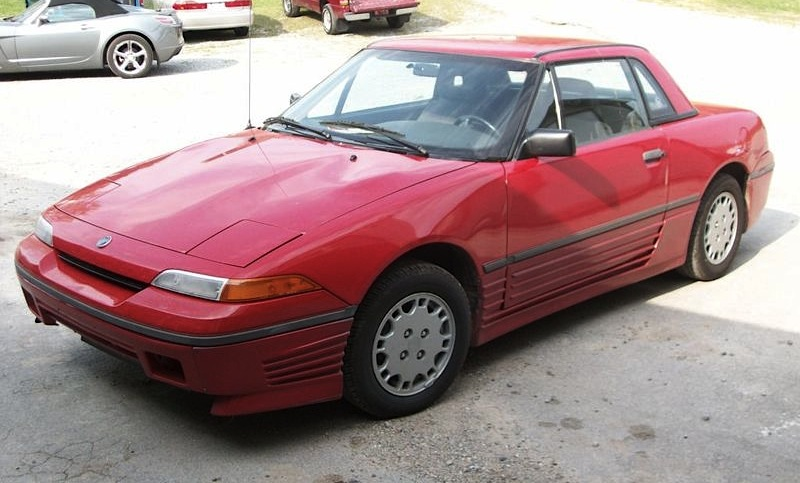 Vermillion 1991 Mercury Capri