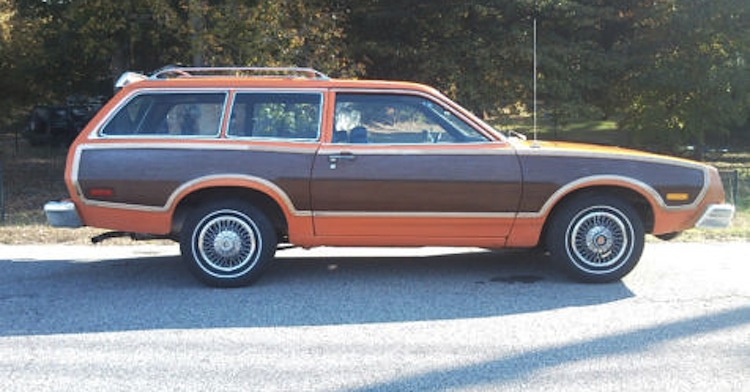 1965 Mustang Station Wagon >> Orange 1977 Pinto Station Wagon - Paint Cross Reference
