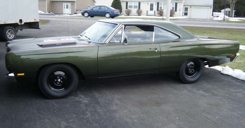 Ivy Green 1969 Plymouth