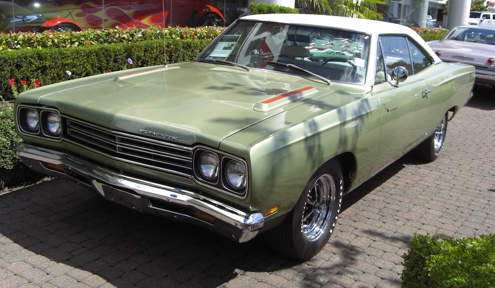 Frost Green 1969 Plymouth Road Runner