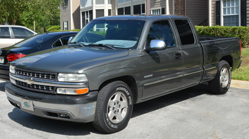 Storm Gray 2001 GM Chevrolet Silverado