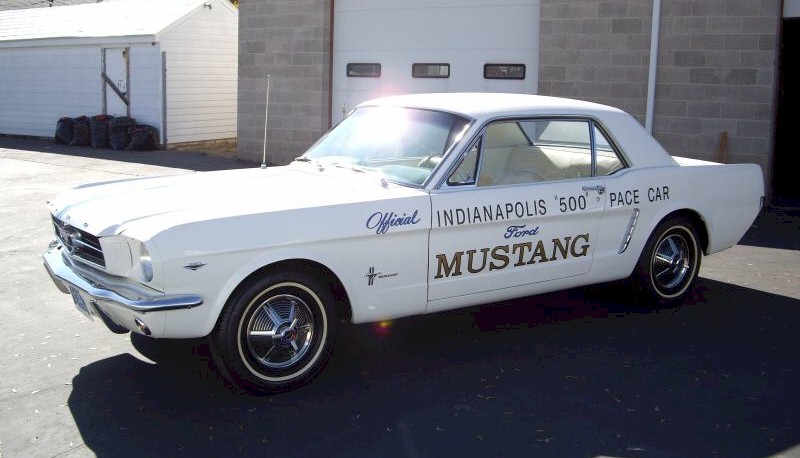 1964 Mustang Pace Car