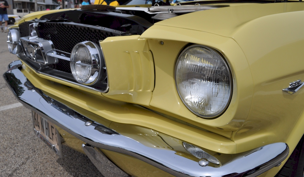 1964 Mustang Fog Lights