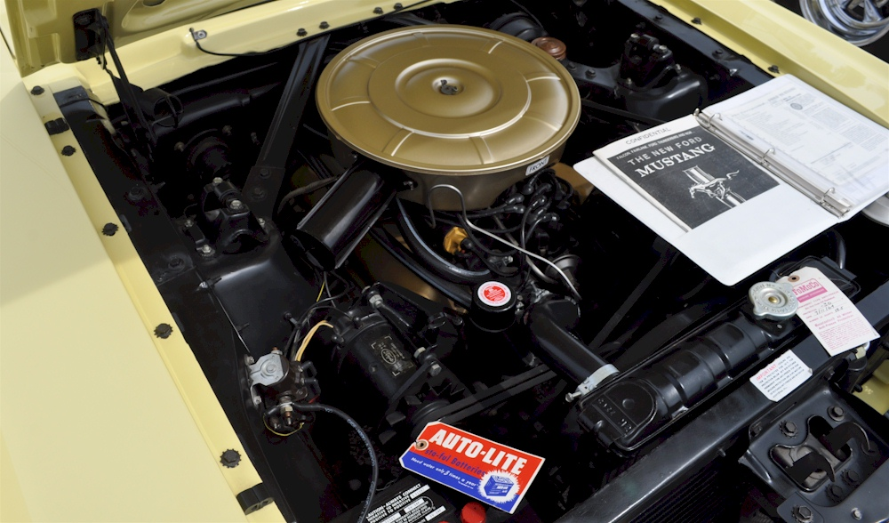 1964 Mustang Engine