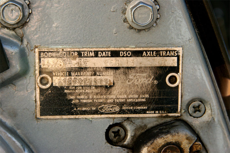 1970 Mustang Buck Tag Decoder Related Keywords & Suggestions