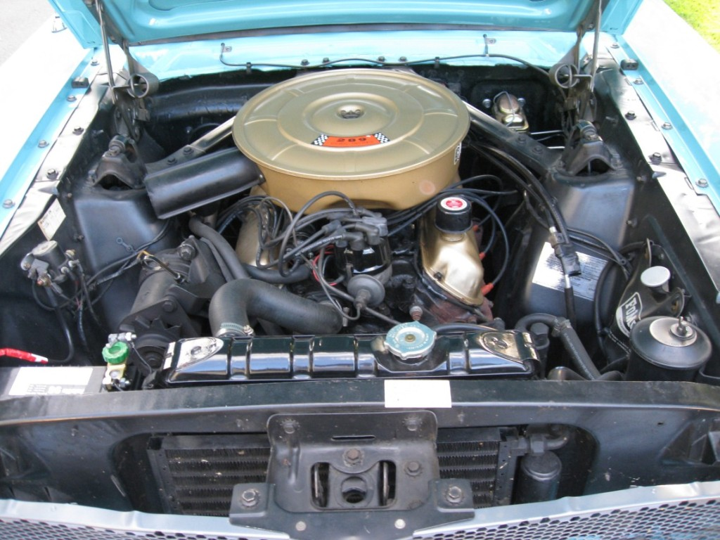 64 Ford Mustang D-code 289ci V8 Engine