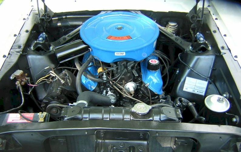 1964 Mustang Engine