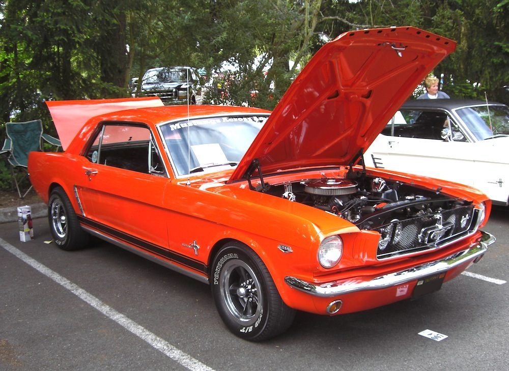 Ford Of Bellevue >> Poppy Red 1964 Ford Mustang Hardtop - MustangAttitude.com ...
