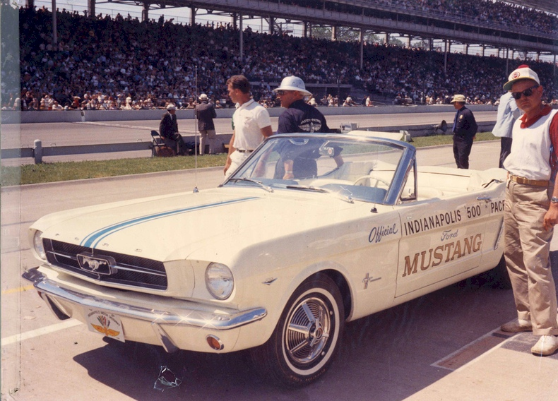 Actual 1964 Mustang Indianapolis Pace Car