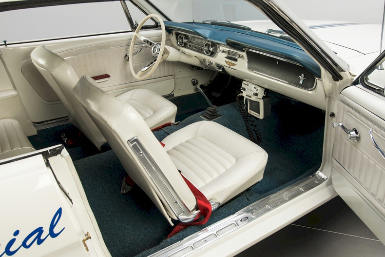 Actual 1964 Mustang Indianapolis Pace Car Interior